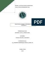 Resistencia Minima y Promedio Del Concreto - Tec Concreto