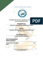 Fuentes Del Derecho Internacional Privado (Trabajo Final)