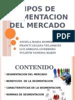 Tipos de Segmentacion Del Mercado (1)