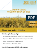 IFPRI-Global Food Policy Report 2013