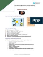 01 Planificación y Programación Del Mantenimiento