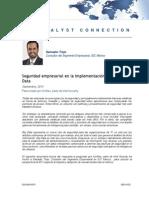 Seguridad Empresarial en La Implementación y Uso de Big Data