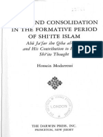 Modarresi-Crisis and Consolidation in the Formative Period of Shi'Ite Islam Copy