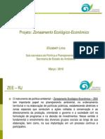 Projeto de Zoneamento Ecológico-Econômico (Março/2010)