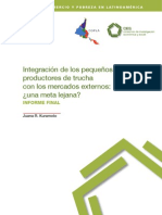 integracion de los peuqeños productores de trucha en los mercados externos