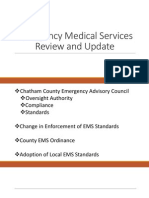 EMS Advisory Council presentation