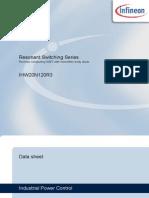 Infineon Ihw20n120r3 Ds v02 06 En