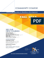2015 Fall Brochure nassau community college