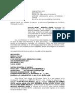 Solicita Devolucion de Vehiculo Incautados Por La Fisclia Caso Geron Mendoza Julca