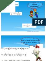 Tipos de Ecuaciones Diferenciales