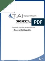 EI-0105E - Rev.00 - 08.02.2011 - Anexo calibración Sigas 2.4 - 2230105E