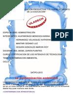 Monografia Contaminacion A