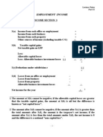 Canadian Taxation Notes