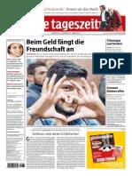 Eine Provokation, taz, 17.9 2015