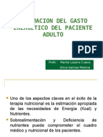 Req. Energeticos Del Adulto