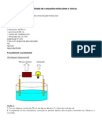 Condutibilidade de Compostos Moleculares e Iônicos