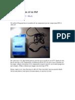 Análisis Del Cable AV de PSP