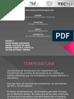 1.2 Sensores de Temperatura