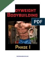 Bodyweight BodyBuilding Phase 1-3