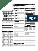Jertal character sheet
