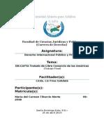 Dr-cafta Tratado de Libre Comercio de Las Américas (Trabajo Final)