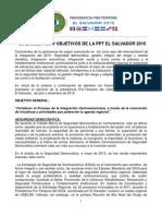 Anexo I_Lineamientos y Objetivos de La PPT- El Salvador 2015 (v- 9.Julio.15)17.06 Hrs