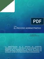El Proceso Administrativvo