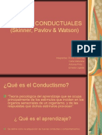 Disertacion Psicologia Teorias Conductistas