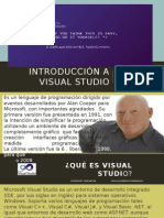 Introducción a VISual Studio