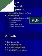 Growth&Development