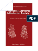 Computational Approaches to Biochemical Reactivity - G. Nara