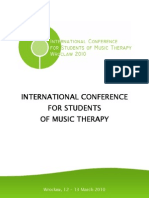 Music Therapy in the Prevention and Treatment of Depression
