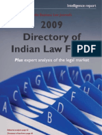 2009 Directory of Indian Law Firms