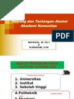 Presentasi Peluang Dan Tantangan Lulusan Akademi Komunitas - OK