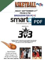 PCYC 3 on 3 Basketball