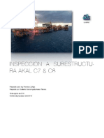 Inspección de plataformas marinas