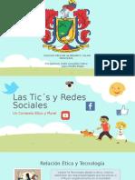 Las Tic´s y Redes Sociales - Ponencia COMIALCO