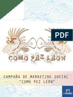 Campaña Como Pez León (Cartilla)