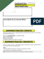 04 Organizacao Admnistrativa Apostila Esquematizada Wilson Garcia 20111221124003
