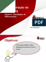 Administração+de+Marketing+-+Seção+4+-+Diferenciação