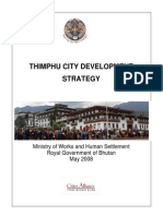 Thimphu City Development Strategy 2008