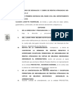 CONTESTACION SUMARIO DESAHUCIO