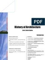 History of Architecture.