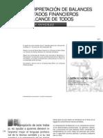 INTERPRETACIÓN DE BALANCES Y ESTADOS FINANCIEROS AL ALCANCE DE TODOS