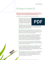 10 Steps to Green IT