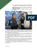 11.10.2014 Fortalecemos La Cultura de La Prevención Esteban