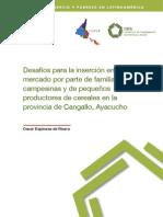 pequeños productores campesinos de la provincia de Cangallo