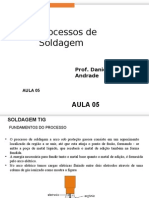 Processos de Soldagem - Aula 05