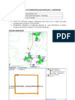 Report Drive Test Makodam IV