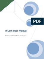 Mcom User Guide